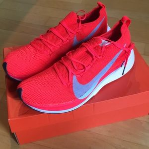 Nike Vaporfly 4% Flyknit racing shoes